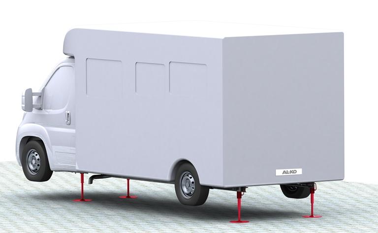 Reisemobil mit HY4